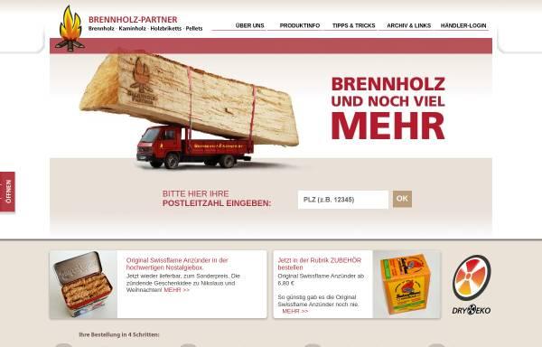 Vorschau von www.brennholz-partner.de, B-P Vertriebsgesellschaft mbH