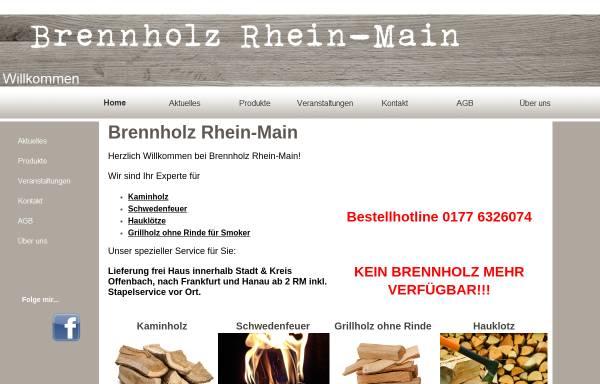 Vorschau von www.brennholz-rhein-main.eu, Brennholz Rhein Main