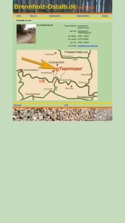 Vorschau der mobilen Webseite www.brennholz-regional.de, Forstingenieur Roberto Preuß