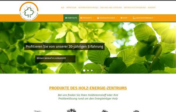 Vorschau von www.holzpellet.com, Holz-Energie-Zentrum Olsberg GmbH