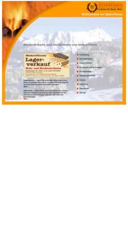 Vorschau der mobilen Webseite www.makrotherm.de, MakroTherm by Rother AG