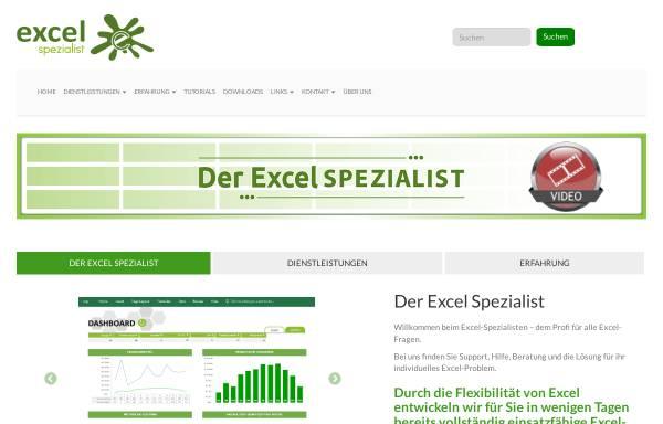 Vorschau von www.excel-spezialist.ch, Excel-Spezialist