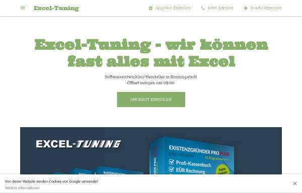 Vorschau von www.excel-tuning.de, Excel-Tuning