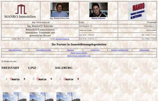 Vorschau von www.manro.at, Manro Immobilien
