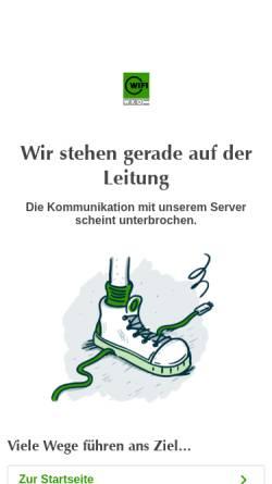 Vorschau der mobilen Webseite www.wifisalzburg.at, Raumdesignerakademie