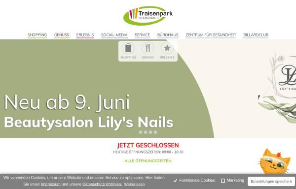 Vorschau von www.traisenpark.at, Traisenpark 18 Vermietungs GmbH