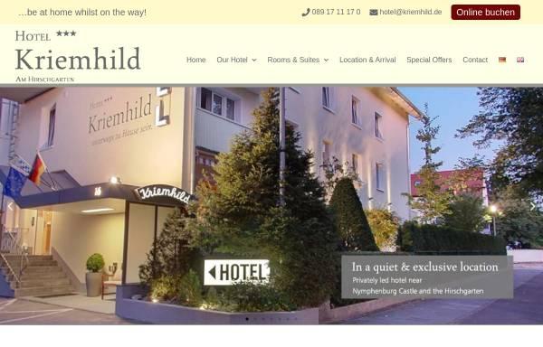 Vorschau von www.kriemhild.de, Hotel Kriemhild
