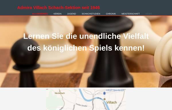 Vorschau von www.admira-villach.at, ESV ASKÖ Admira Villach Sektion Schach