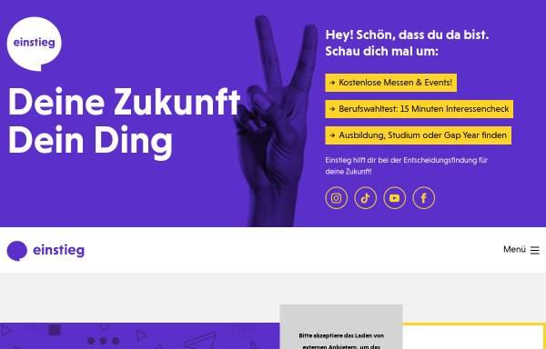 Vorschau von www.einstieg.com, Einstieg