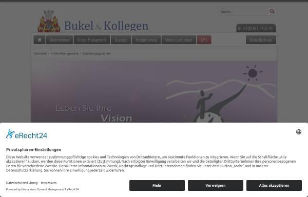 Vorschau von www.sanierungsgutachter.de, BMS - Beratungssozietät für den Mittelstand GmbH