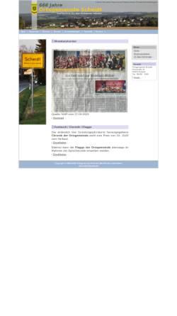 Vorschau der mobilen Webseite www.ortsgemeinde-scheidt.de, Ortsgemeinde Scheidt