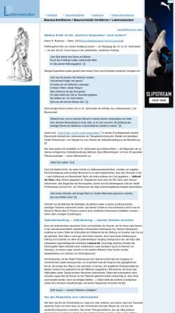 Vorschau der mobilen Webseite www.lebenswecker.de, Baunscheidtismus