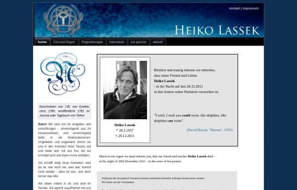 Vorschau von www.heiko-lassek.de, Heiko Lassek