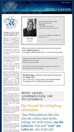 Vorschau der mobilen Webseite www.heiko-lassek.de, Heiko Lassek