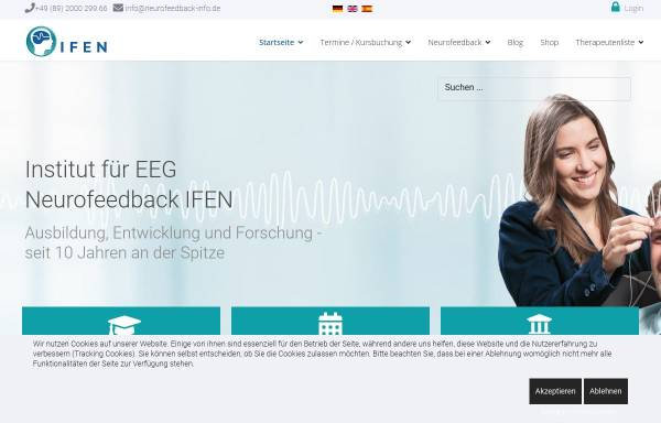 Vorschau von neurofeedback-info.de, Institut für EEG-Neurofeedback