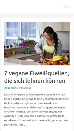 Vorschau der mobilen Webseite www.natur-und-natuerlichkeit.de, Natur und Natürlichkeit
