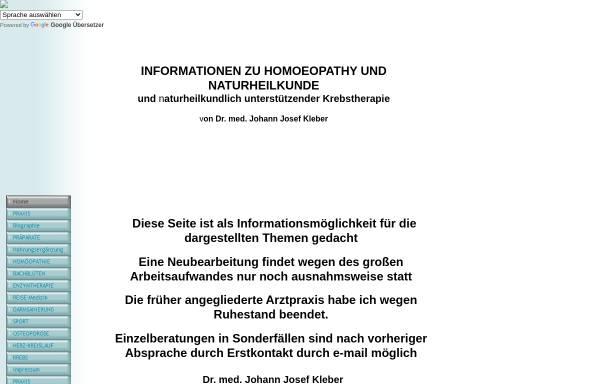 Vorschau von www.naturmedinfo.de, Naturheilkunde Information