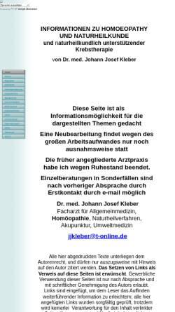 Vorschau der mobilen Webseite www.naturmedinfo.de, Naturheilkunde Information