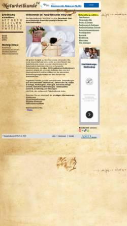 Vorschau der mobilen Webseite www.nhk24.de, Naturheilkunde Online