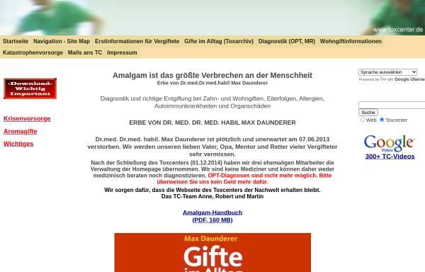 Vorschau von toxcenter.org, ToxCenter e.V.