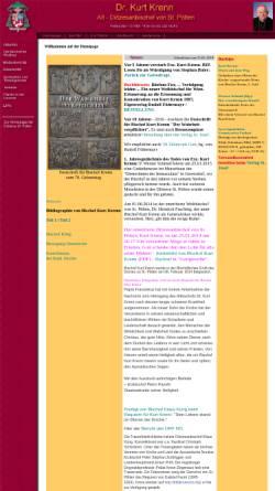 Vorschau der mobilen Webseite www.stjosef.at, Alt-Diözesanbischof Dr. Kurt Krenn von St. Pölten