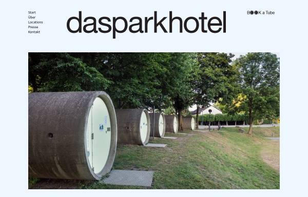 Vorschau von www.dasparkhotel.net, Parkhotel