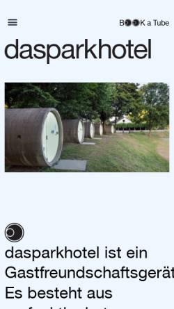 Vorschau der mobilen Webseite www.dasparkhotel.net, Parkhotel