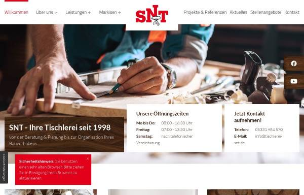 Tischlerei Wolfenbüttel stephan niehoff tischlermeister in wolfenbüttel wirtschaft