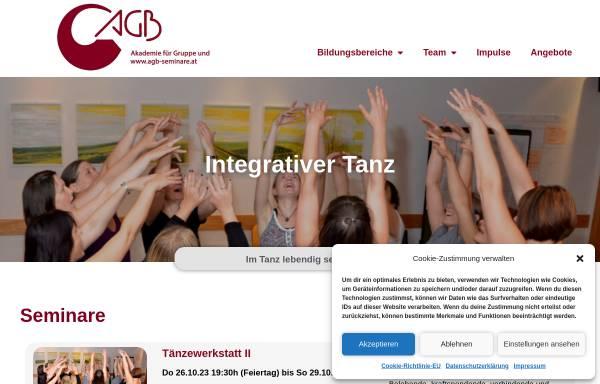 Vorschau von www.integrativer-tanz.at, Integrativer Tanz