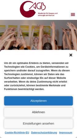 Vorschau der mobilen Webseite www.integrativer-tanz.at, Integrativer Tanz