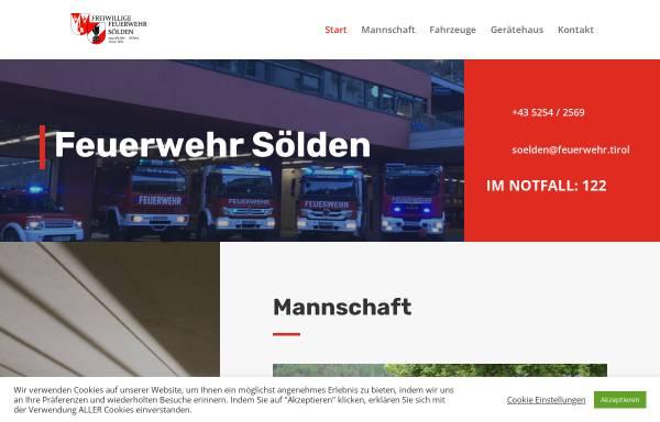 Vorschau von www.soelden.at, Freiwillige Feuerwehr Sölden