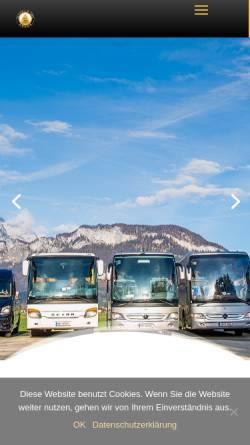 Vorschau der mobilen Webseite www.busreisen-schreder.at, Busreisen Schreder