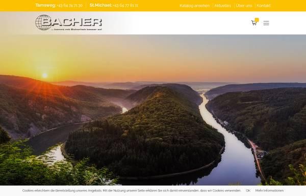 Vorschau von www.bacher-reisen.com, Bacher-Reisen