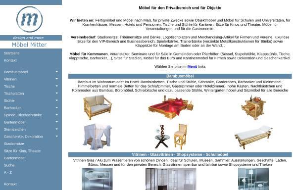 Möbelhaus Und Tischlerei Manfred Mitter Persönliche Homepages