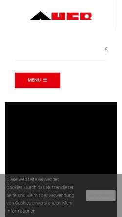Vorschau der mobilen Webseite www.auerbau.at, Bauunternehmen Auer