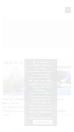 Vorschau der mobilen Webseite www.kinderzentrum-ruhrgebiet.de, Stiftung Kinderzentrum Ruhrgebiet
