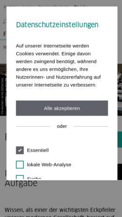 Vorschau der mobilen Webseite www.fh-aachen.de, Hochschulbibliothek der Fachhochschule Aachen
