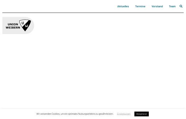 Vorschau von union.weibern.at, Union Weibern - Sektion Fußball
