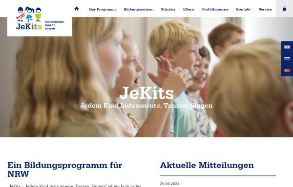 Vorschau von www.jedemkind.de, Stiftung