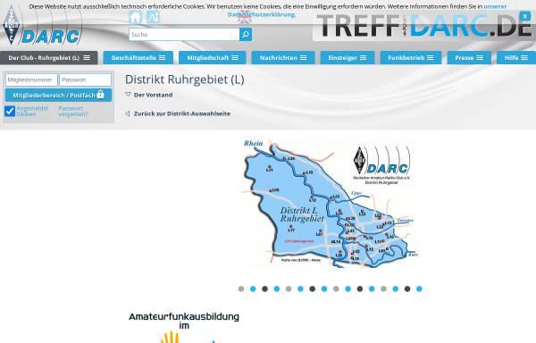 Vorschau von www.darc.de, Deutscher Amateur-Radio-Club e.V. (DARC), Distrikt Ruhrgebiet
