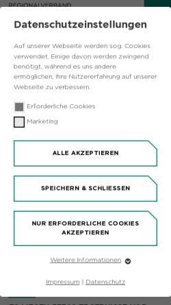 Vorschau der mobilen Webseite www.idruhr.de, Informationsdienst Ruhr (IDR)