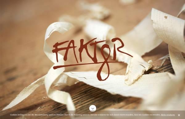 Vorschau von www.faktor8.at, Faktor 8 - Tischler, die neue Wege gehen
