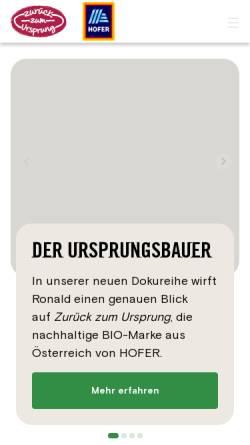 Vorschau der mobilen Webseite www.zurueckzumursprung.at, Zurück zum Ursprung