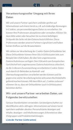 Vorschau der mobilen Webseite www.salzburg.com, Salzburger Nachrichten - Schwerpunkt Wahl 2002