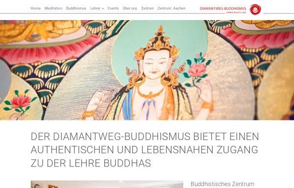 Vorschau von www.buddhismus-aachen.de, Buddhistisches Zentrum Aachen