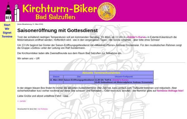 Vorschau von www.kirchturmbiker.de, Kirchturm-Biker Bad Salzuflen