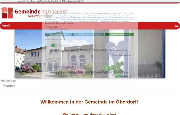 Vorschau von gemeinde-im-oberdorf.de, Evangelisch-Freikirchliche Gemeinde (Baptisten)