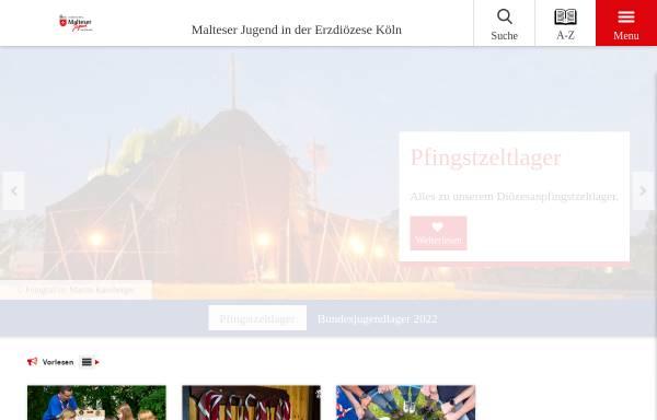 Vorschau von www.malteserjugend-koeln.de, Malteser Jugend in der Erzdiözese Köln
