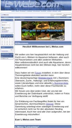 Vorschau der mobilen Webseite www.l-welse.com, L-Welse.com
