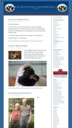 Vorschau der mobilen Webseite www.rassetauben.ch, SV der Süddeutschen Farbentaubenzüchter